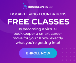 Free classes on how to start a virtual bookkeeping business